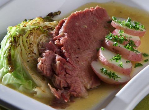 Corned beef and cabbage, Photo by Donna Turner Ruhlman
