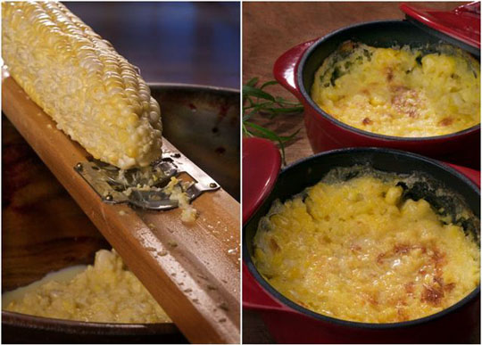 Baked buttered corn. Photo by Donna Turner Ruhlman