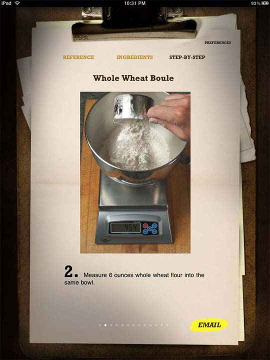 bread baking app for ipad