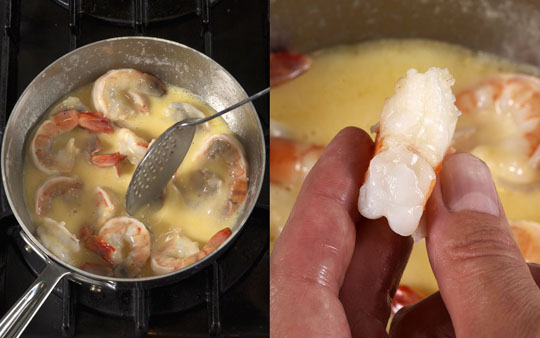 Butter-Poached Shrimp and Grits | Michael Ruhlman