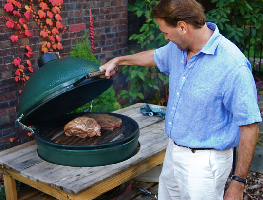 big green egg large table price