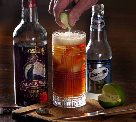 Friday Cocktail Hour Revisited: The Dark & Stormy