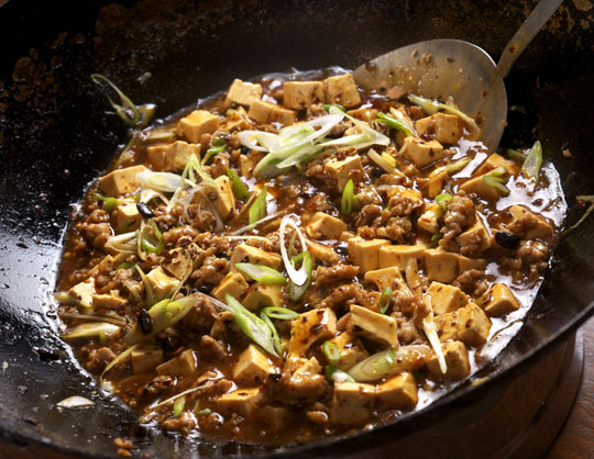 Spicy Tofu with Beef and Sichuan Peppercorn. Photo by Donna Turner ...