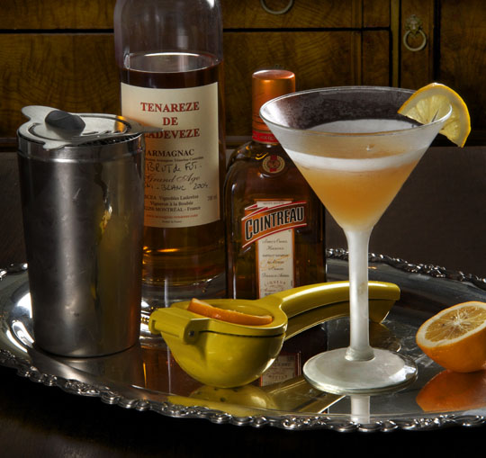 The Friday Cocktail Hour: Gascon Sidecar