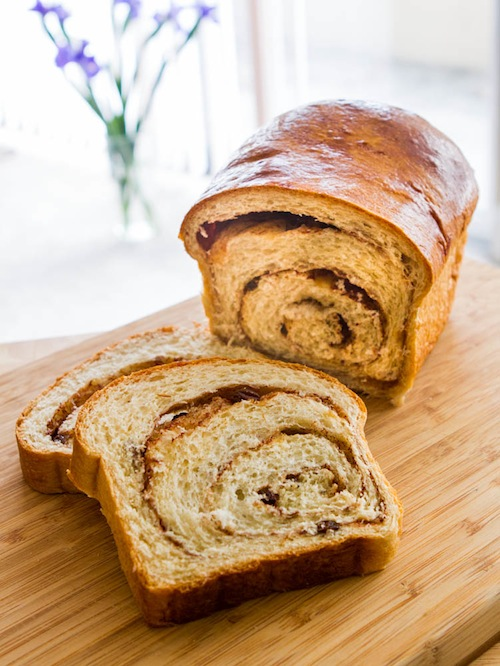 Cinnamon Bread from The Culinary Life