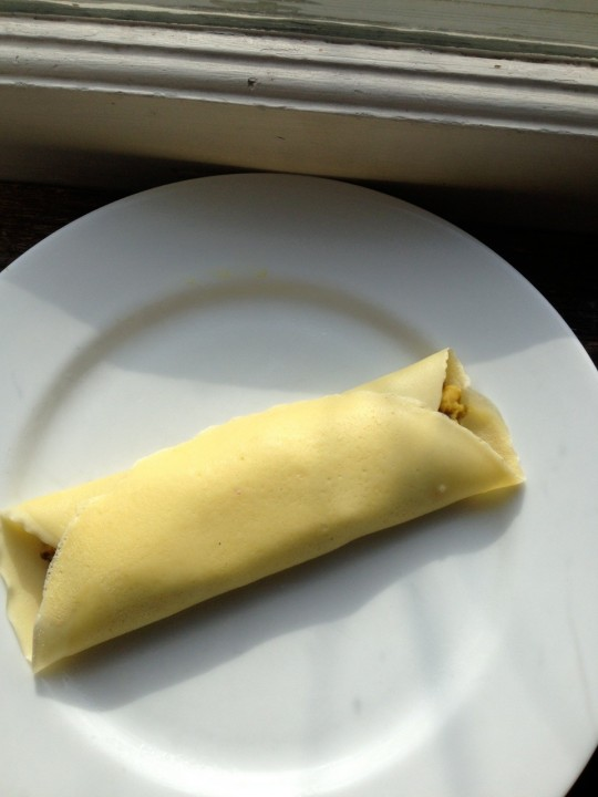 The folded crepe