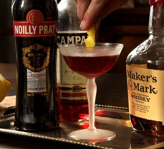 The Boulevardier with the twist