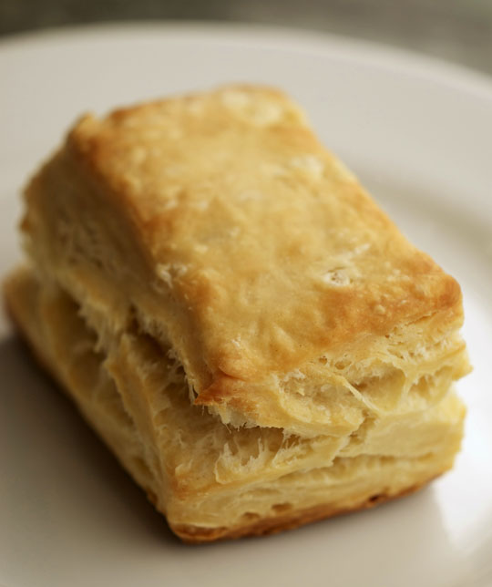 Layered Biscuits Recipe — Dishmaps