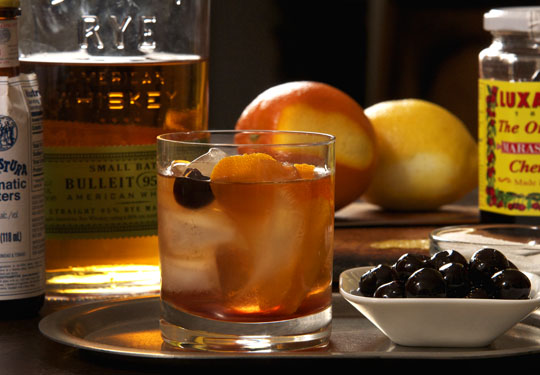 The Old Fashioned Manhattan. Photo by Donna Turner Ruhlman.