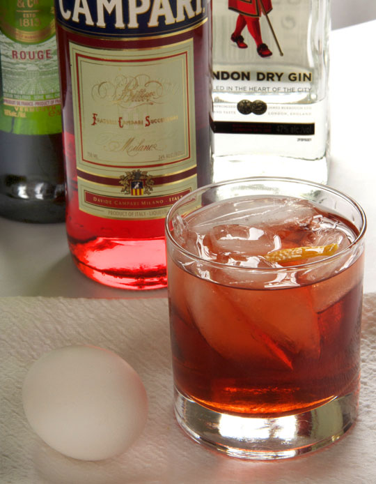 Regina's Negroni. Photo by Donna Turner Ruhlman.