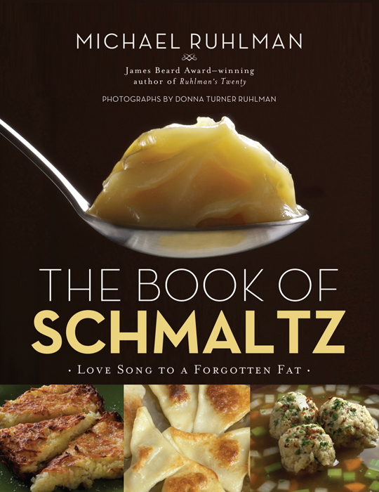 The official cover of Schmaltz.