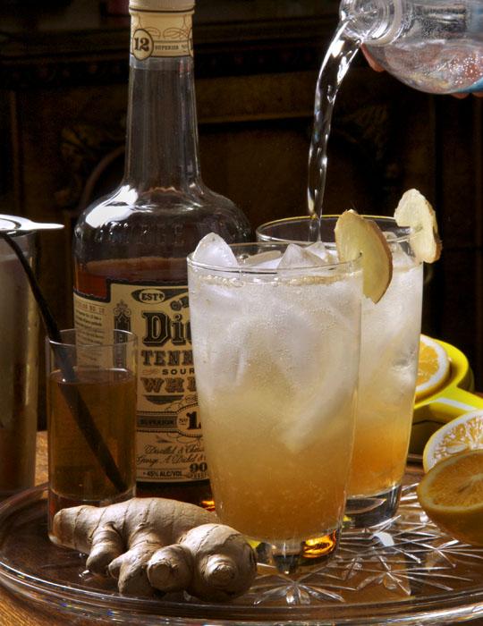 Pardus' Meyer Lemon Fig Cocktail. Photo by Donna Turner Ruhlman.