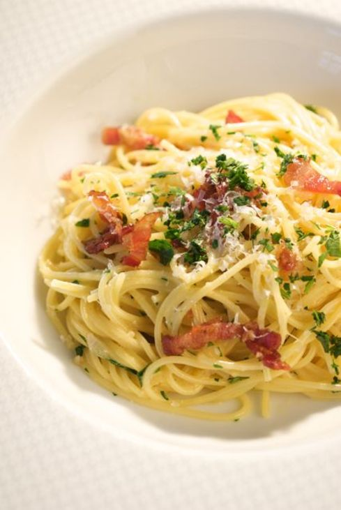 Carbonara. Photo by Donna Turner Ruhlman.