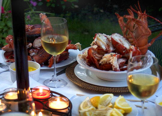 lobster wine dinner