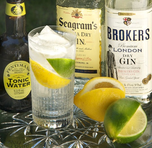 Friday Cocktail Hour: One More Gin and Tonic