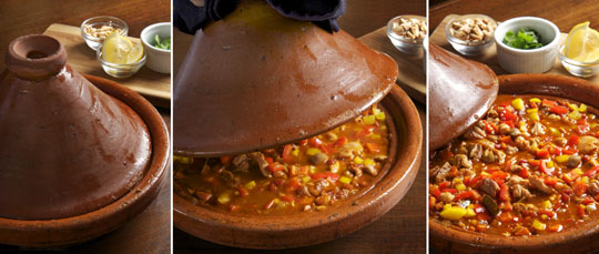 Time to learn more about the tagine. Photo by Donna Turner Ruhlman.