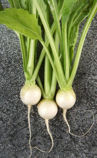 Baby turnips.
