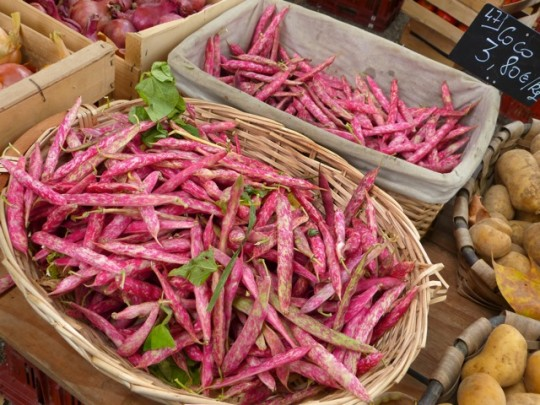 pink beans farmer's market