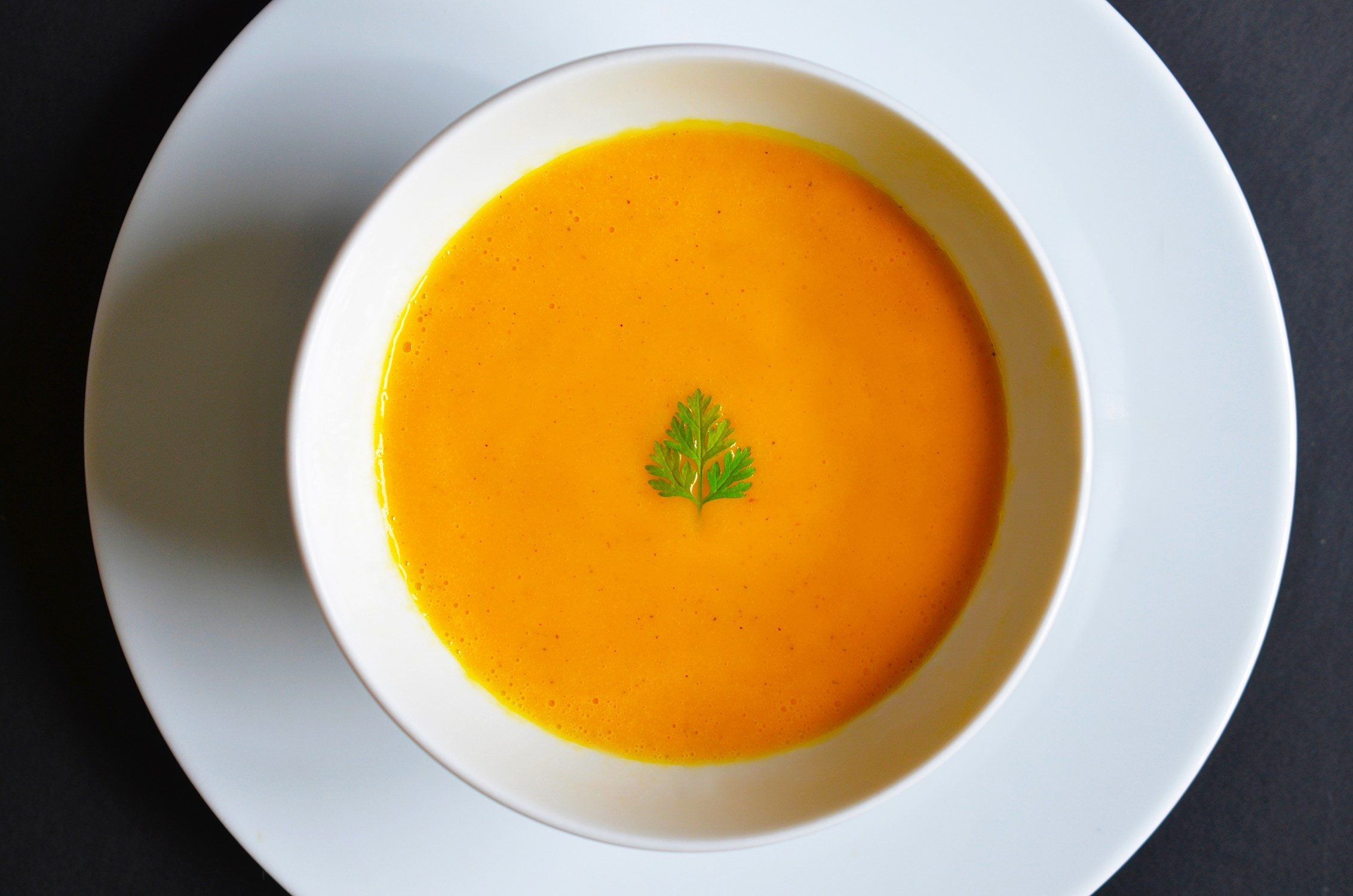 Carrot and Cardamom Soup: simple, seasonal, and paleo. Photo by Henry ...