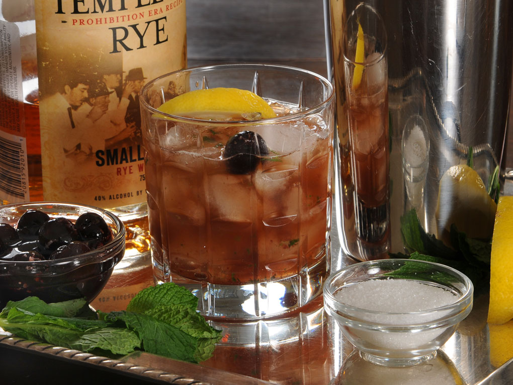 Friday Cocktail Hour: Rye Whiskey Smash | Michael Ruhlman