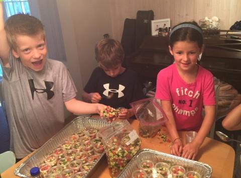 kids and salsa