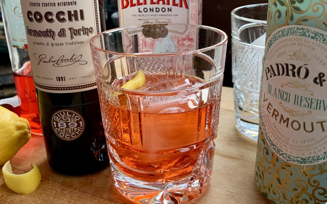 The Return of The Friday Cocktail Hour: The Perfect Negroni