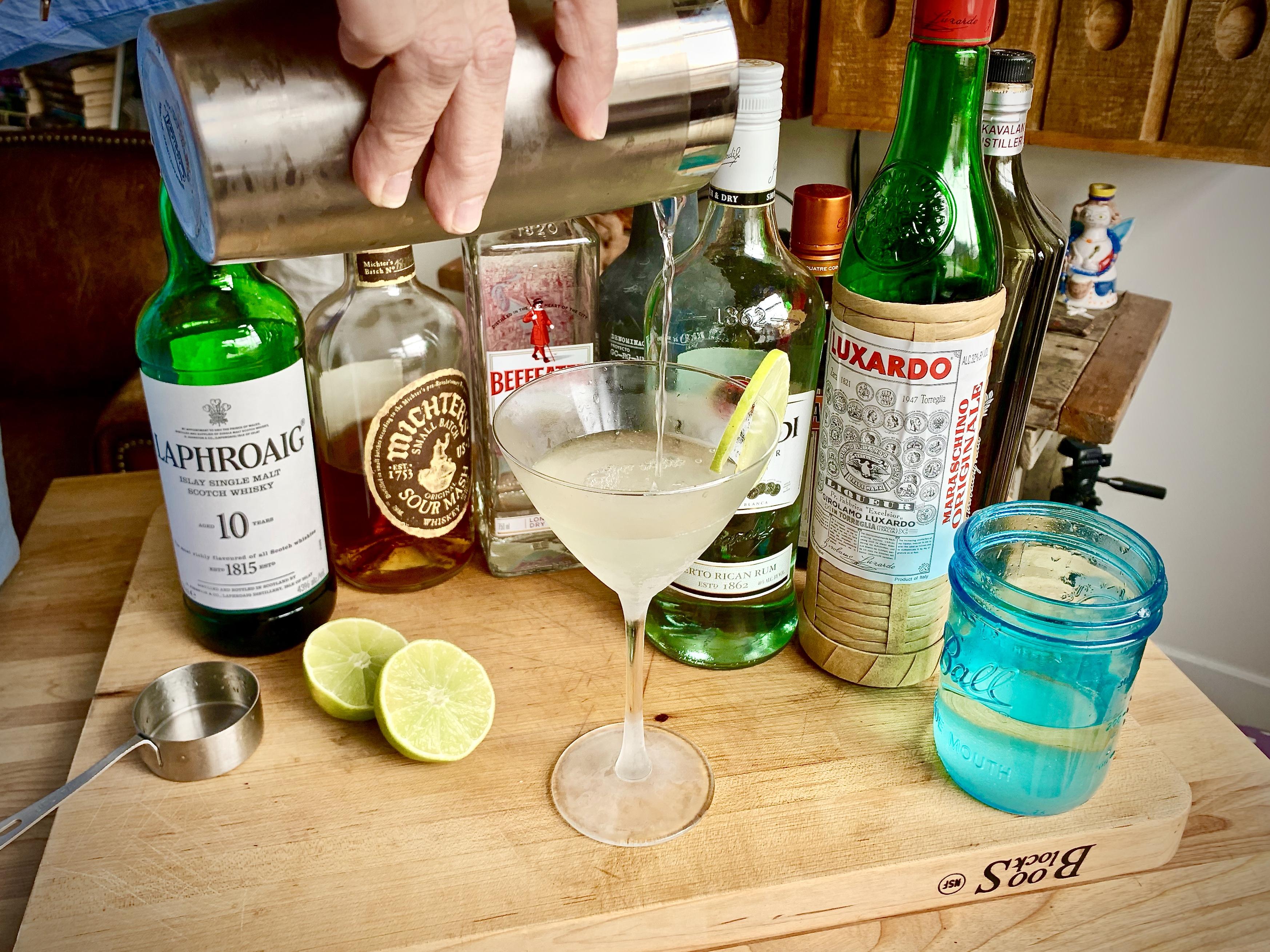 Friday Cocktail Hour! The Maraschino Daiquiri