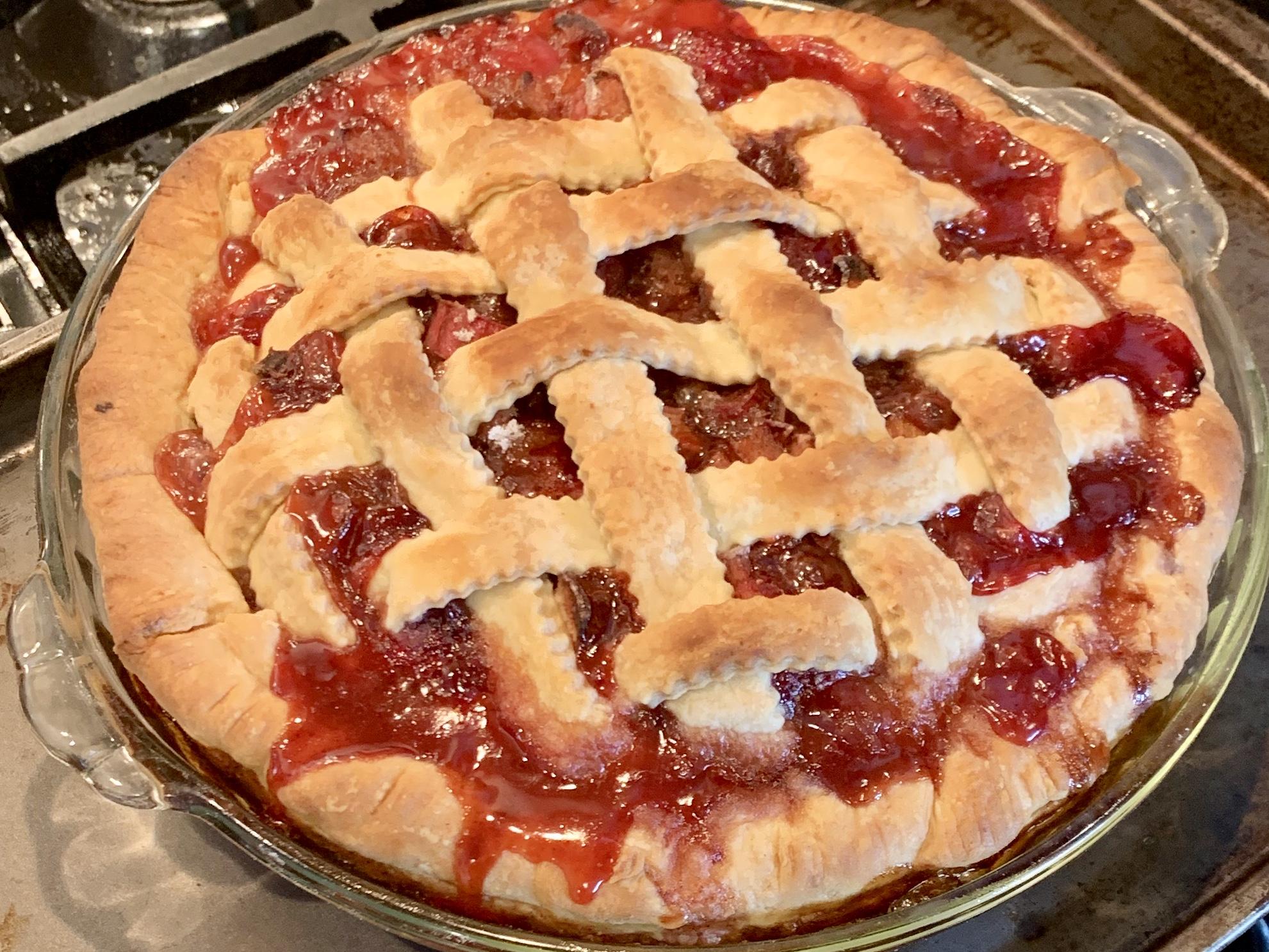Rhubarb Pie Season