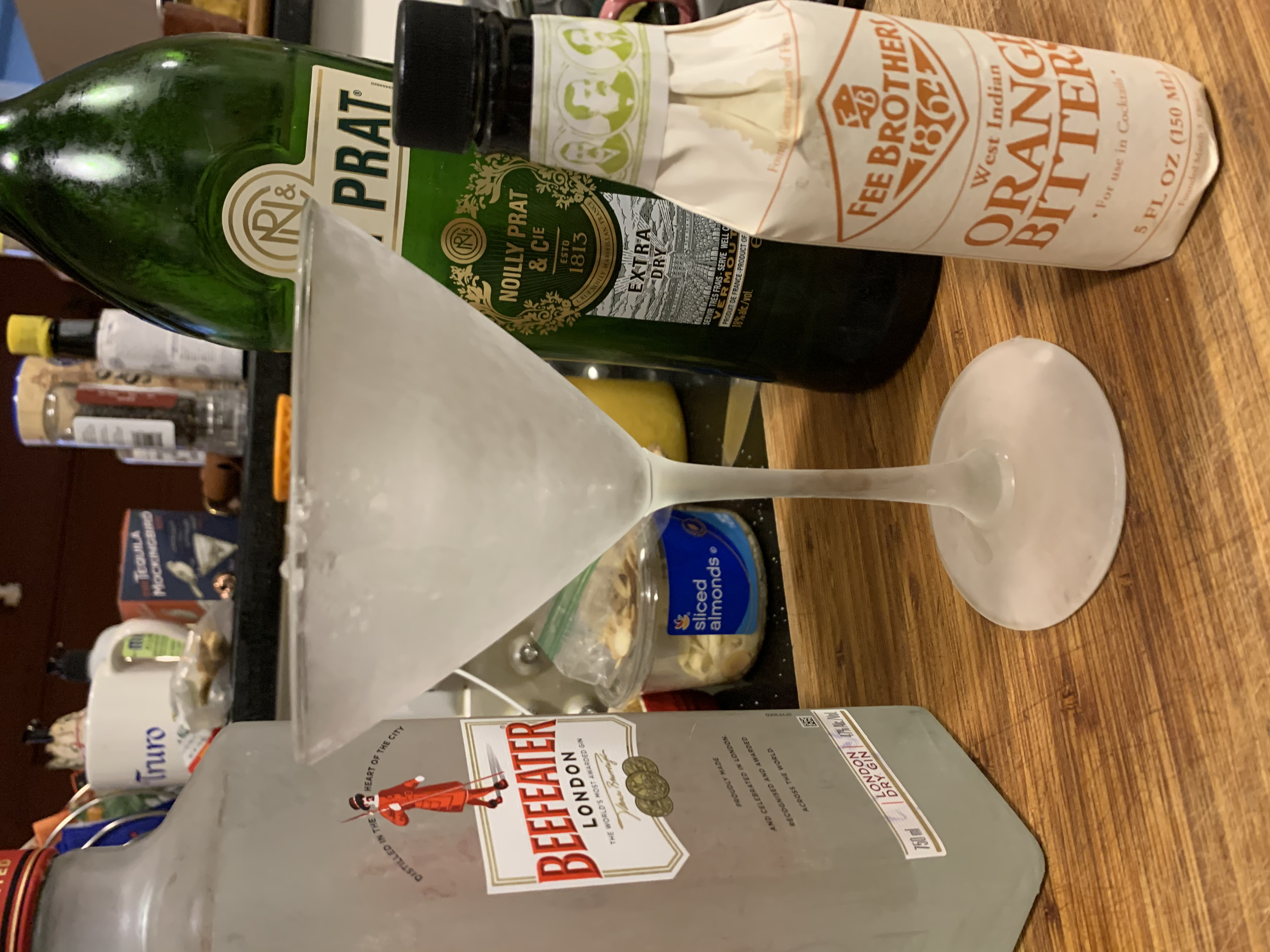 Friday Cocktail Hour: The Enhanced Martini
