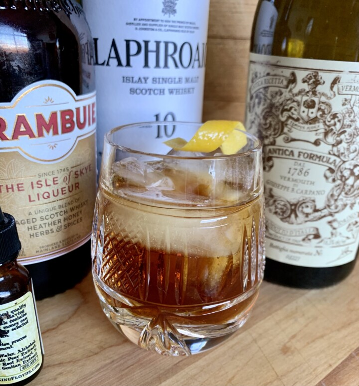 The Rabbie Burns cocktail